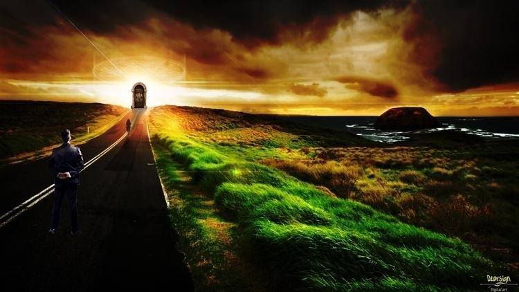 Paradise Gate - conceptart, photoshop - davidechieppa | ello