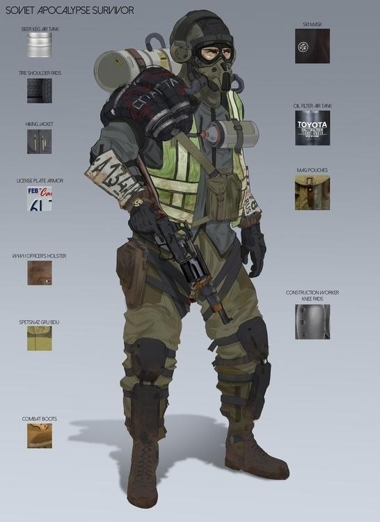 Sacha Spartan Rangers - conceptdesign - will_jinho_bik | ello