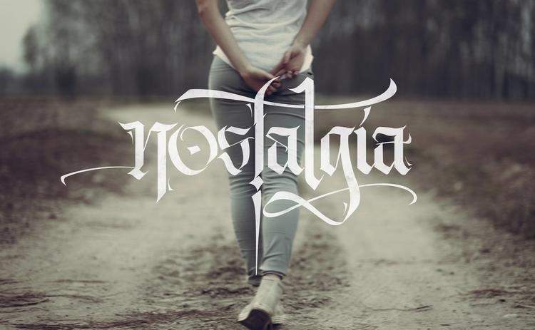nostalgia, lettering, type, inspiration - dayer | ello