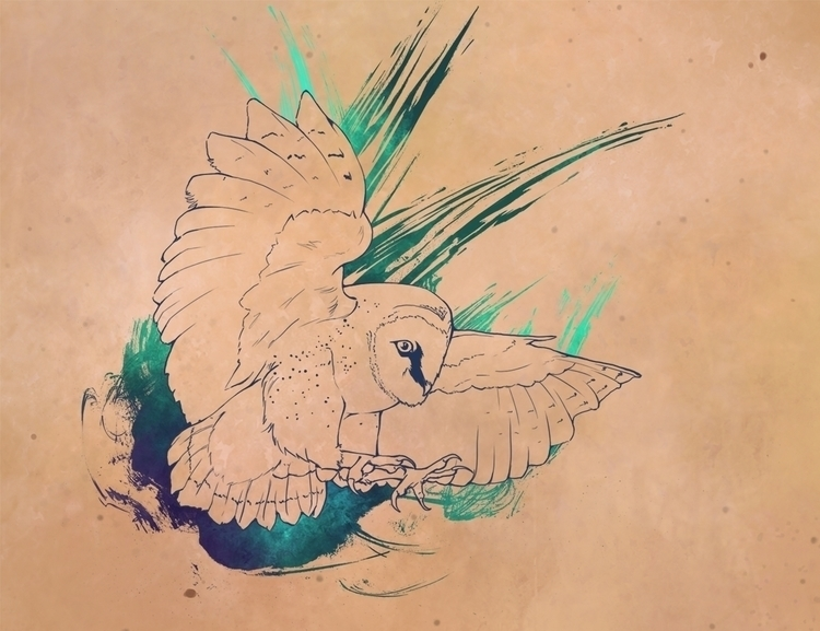 Owl Tattoo Commission Meant loc - celestialartistry | ello