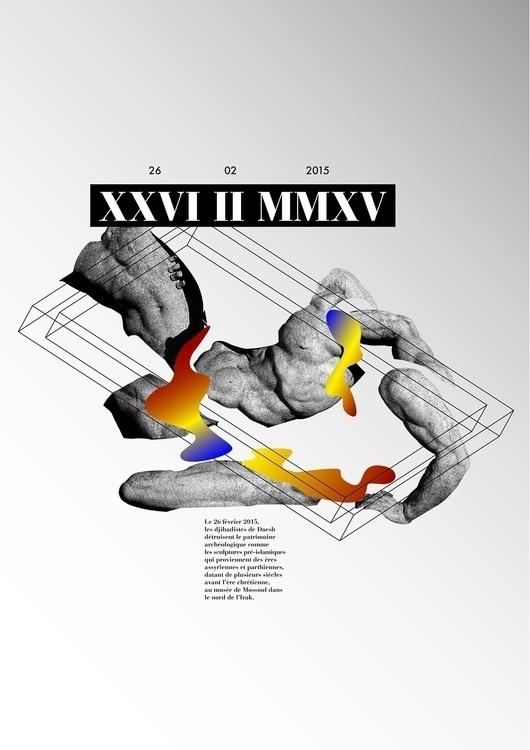 XXVI II MMXV - sculpture, museum - sarahnaud | ello
