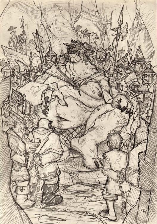 Hobbit - king - goblin, denismedri - denismedri | ello
