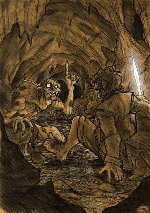 Hobbit - Gollum - gollum, denismedri - denismedri | ello