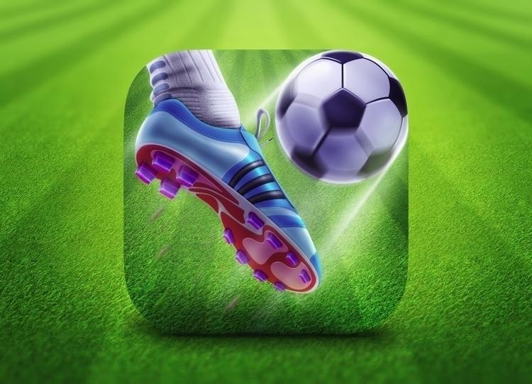 Football App Icon - zaibsali | ello