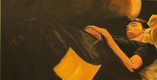 painting, contemporaryart, visualart - gabrielbroady | ello