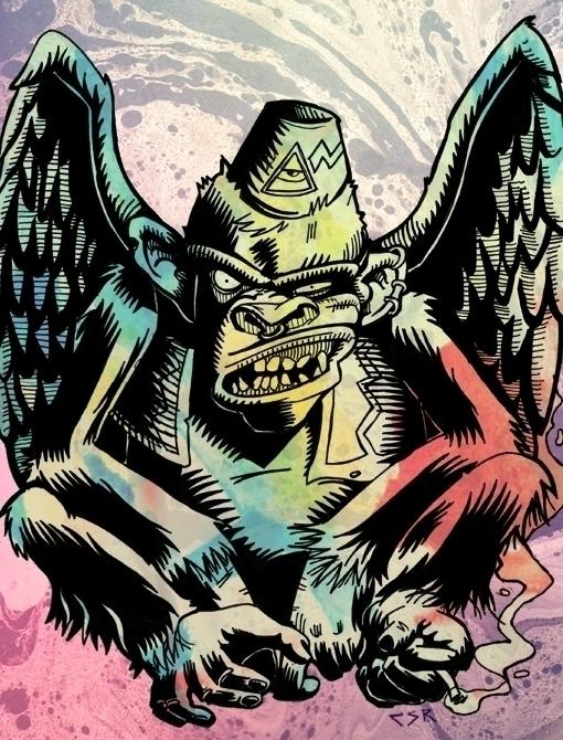 winged monkey - csrjara   ello