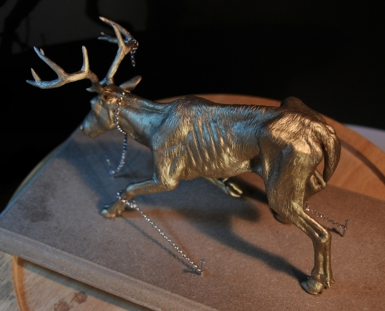 deer, sculpt, clay, sculpey - heliot-4253 | ello