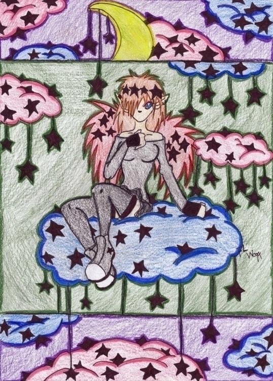 Black Star - colorfulart, animeart - felishamarieart | ello