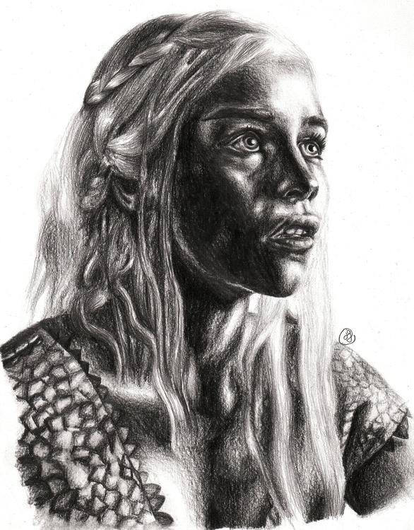 Daenerys Targaryen (Emilia Clar - juliagurevich | ello