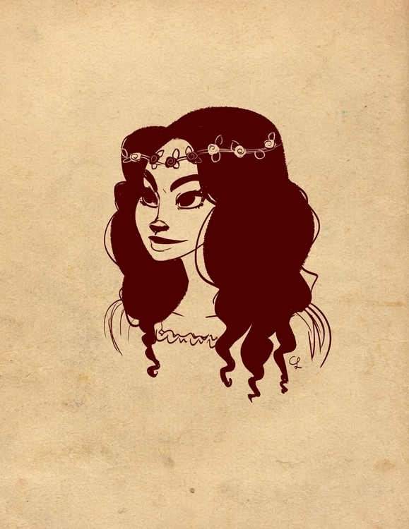 Princess - illustration, princess - unicorndoodles | ello