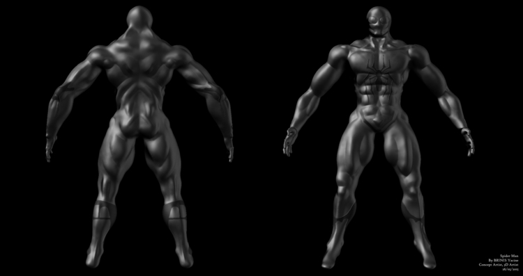 Character Design ZBrush Yacine  - yacinebrinis | ello