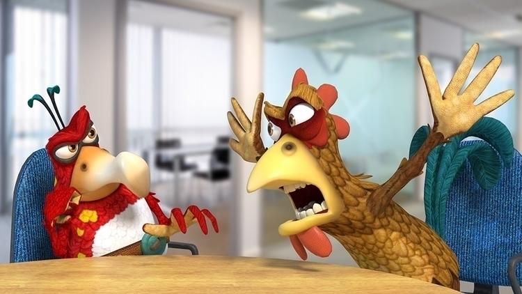 Biz Chicken WAKSTER. Part colle - pingels | ello