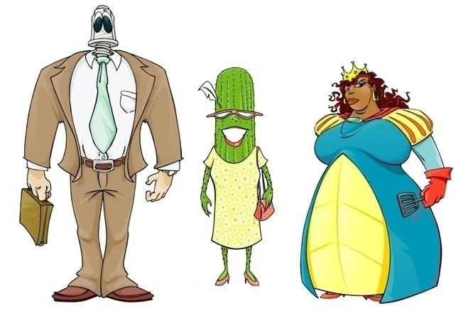 QUELF Character Designs - Lugnu - mattcandraw | ello