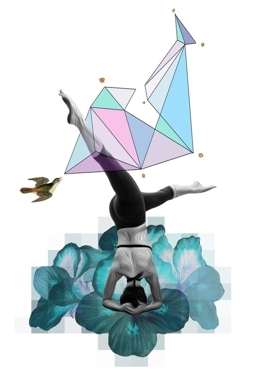 illustration, yoga, geometric - marvellous-1264 | ello
