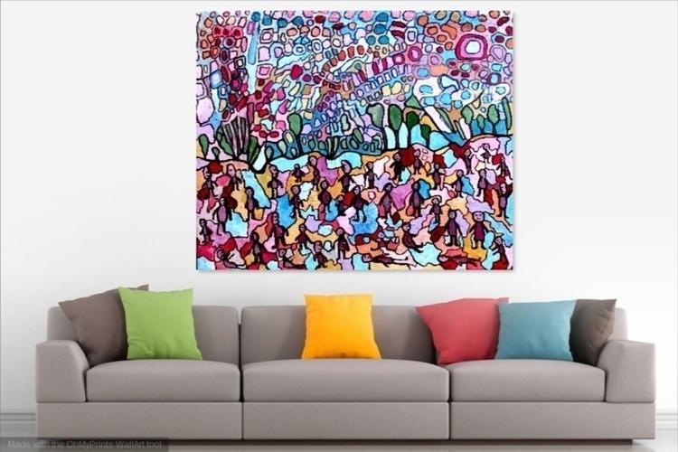 Oil canvas - painting - pdingley | ello