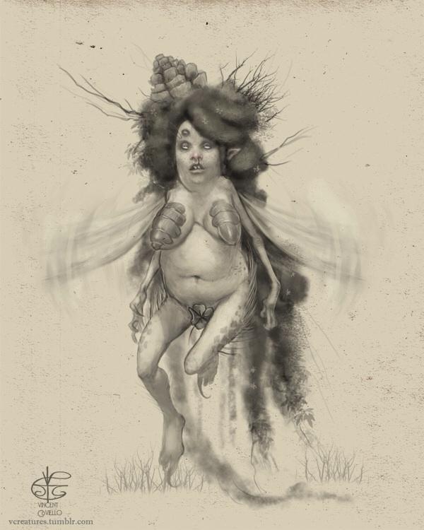 Pixie - pixie, fairy, Fantasyart - vcreatures | ello