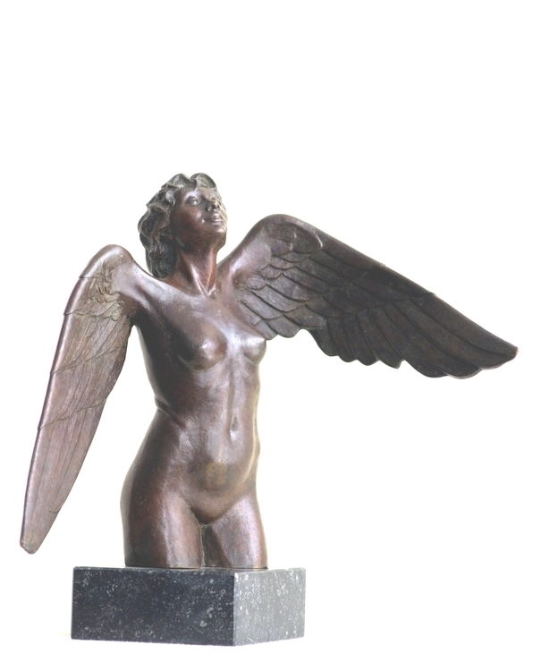 Winged figure, bronze, height 2 - marina-7013 | ello