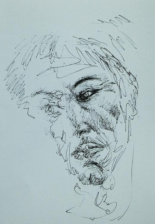 drawing, gesture, art, american - gabrielbroady   ello
