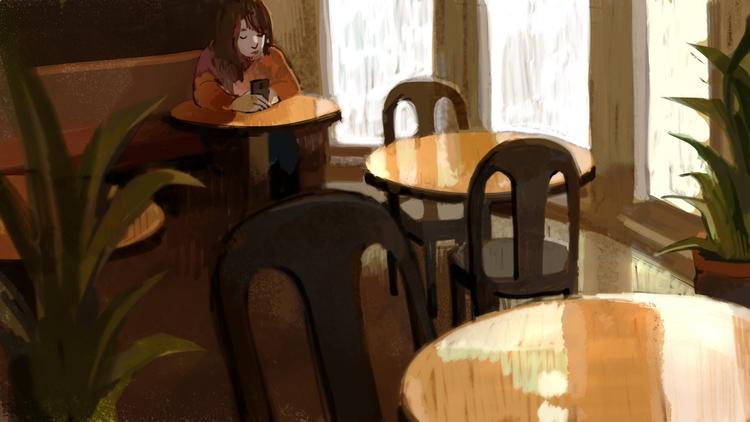 cafe - pom-1507 | ello