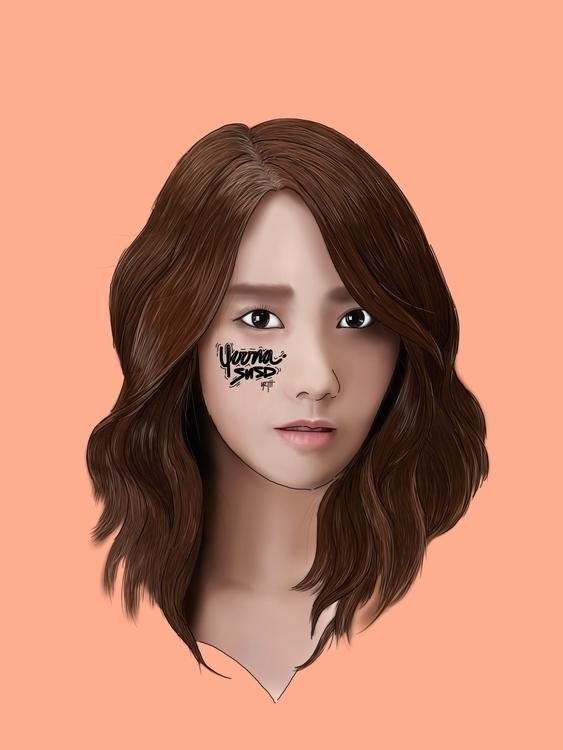 YOONA | SNSD - illustration, drawing - netys | ello