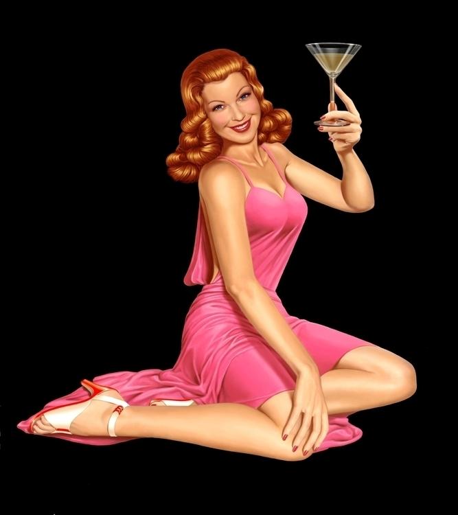Cocktail girl - otto-1296 | ello