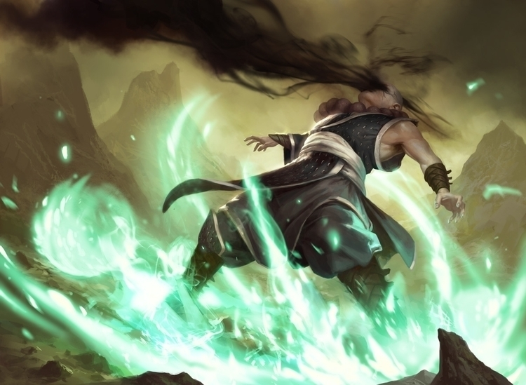 Reach Shadows - Fate Reforged - mtg - daarken   ello