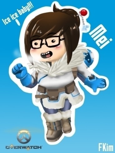 Mei - illustration, characterdesign - fkim90 | ello