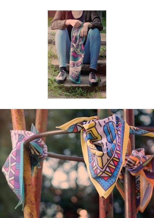 90s - scarf, oldschool, pattern - laurita_potapova | ello