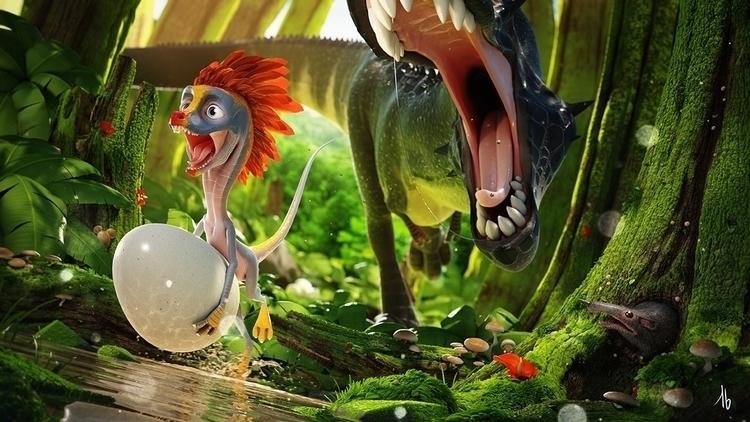 Oviraptor - dinosaur, oviraptor - tbkoen | ello