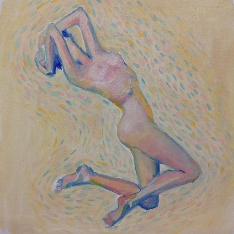 wind - nude, nudes, nudity, figuredrawing - maggiechao | ello