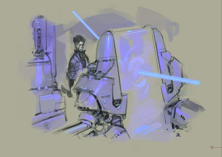 Time machine portal design 6 - MovieDesign - theblackfrog | ello