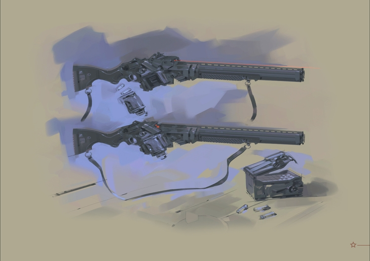 Gauss Gun - MovieDesign - theblackfrog | ello