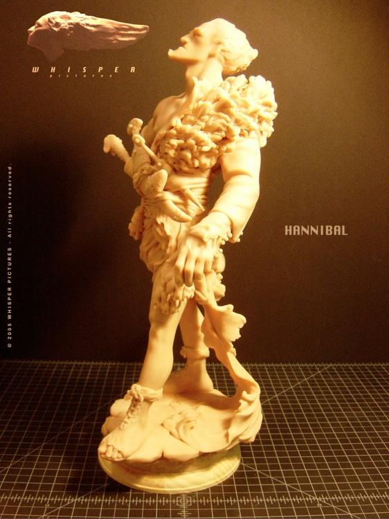 Hannibal - Tusk Sculpt - MovieDesign - theblackfrog | ello