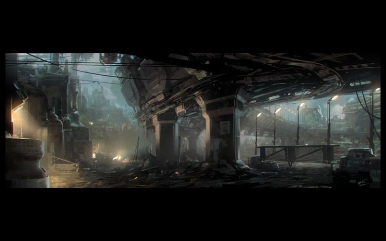 Esc-Ape Cities Machine Men - Illustration - theblackfrog | ello