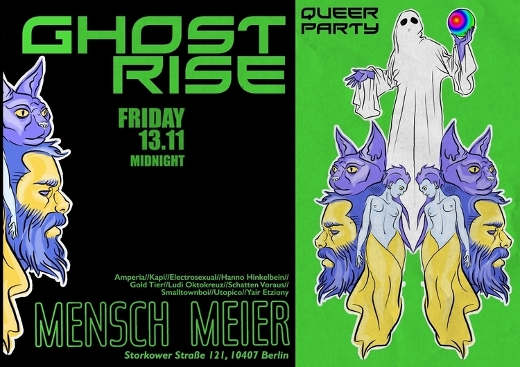 Ghost_Rise queer party, Berlin  - vascobz | ello