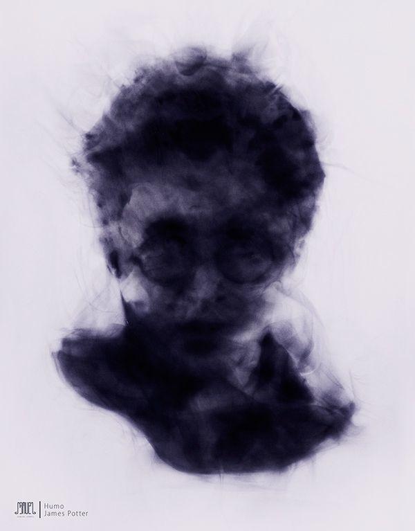 BEHANCE - #humo, harrypotter, magic - samuelarmas3 | ello