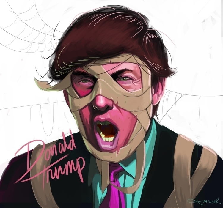 Donald Trump Mummy portrait - digitalart - camm182 | ello