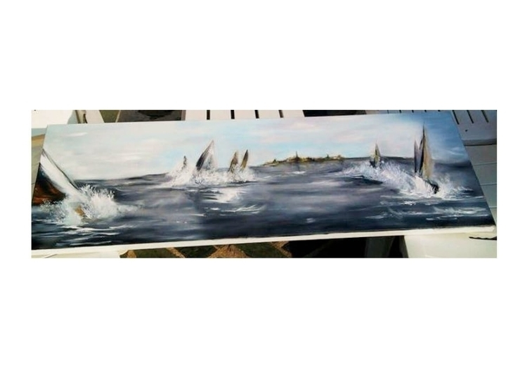 Painting 3 - sea, art, oilpainting - juliettemary | ello
