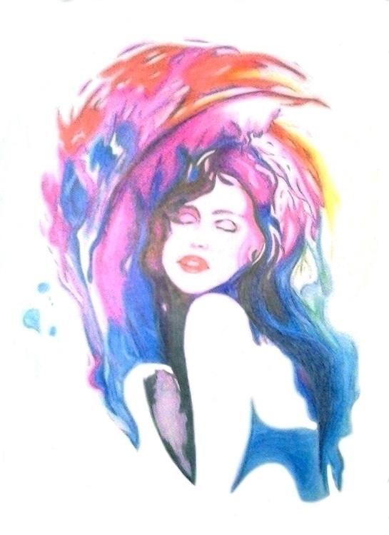 Abstract woman - eliacecconello | ello