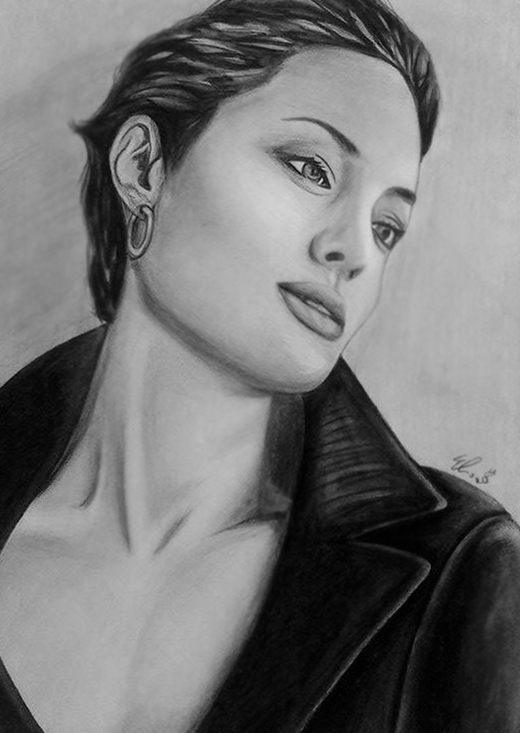 Angelina Jolie - eliacecconello   ello