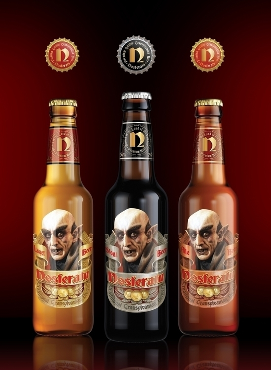 Nosferatu Beer Packaging Design - renemartin | ello
