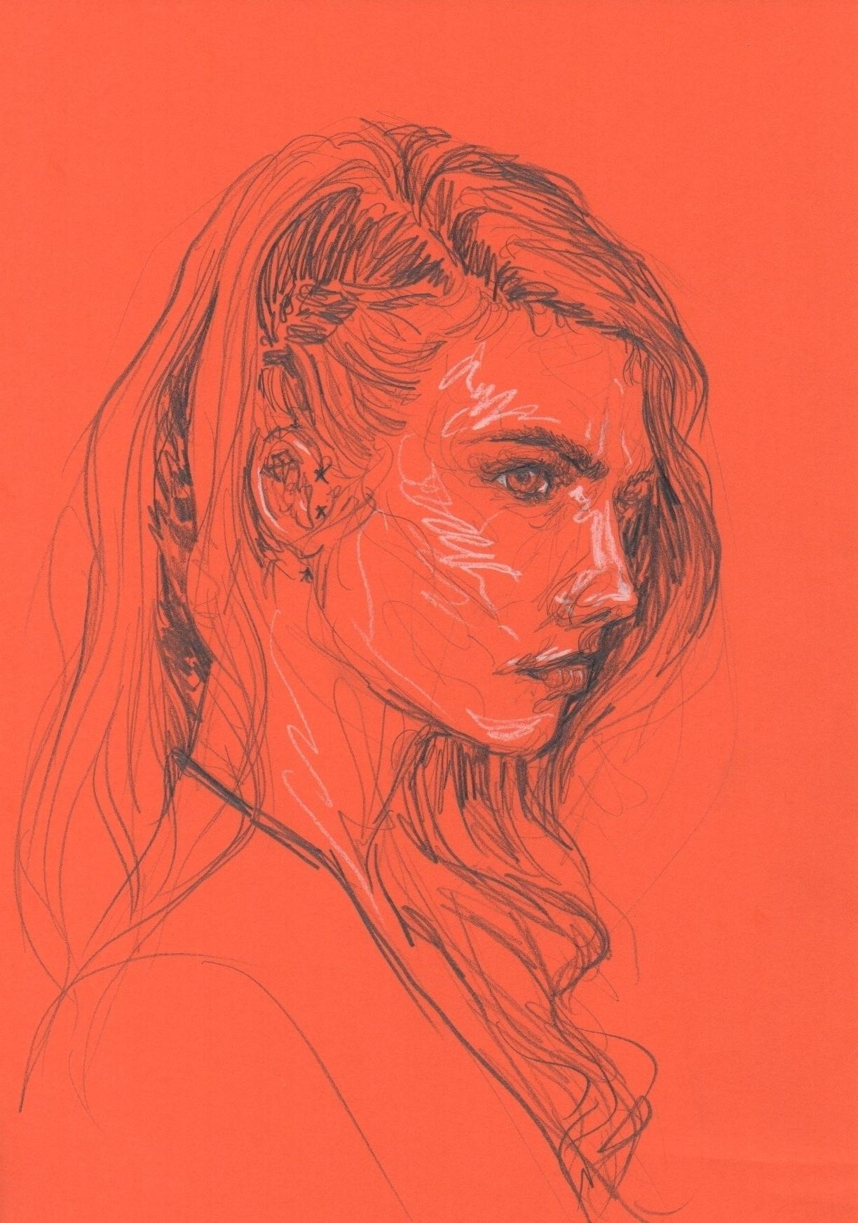 Cara - illustration, drawing, sketch - juichenhu | ello
