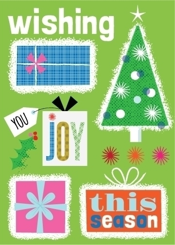 Wishing Joy Season - illustration - amycartwright | ello