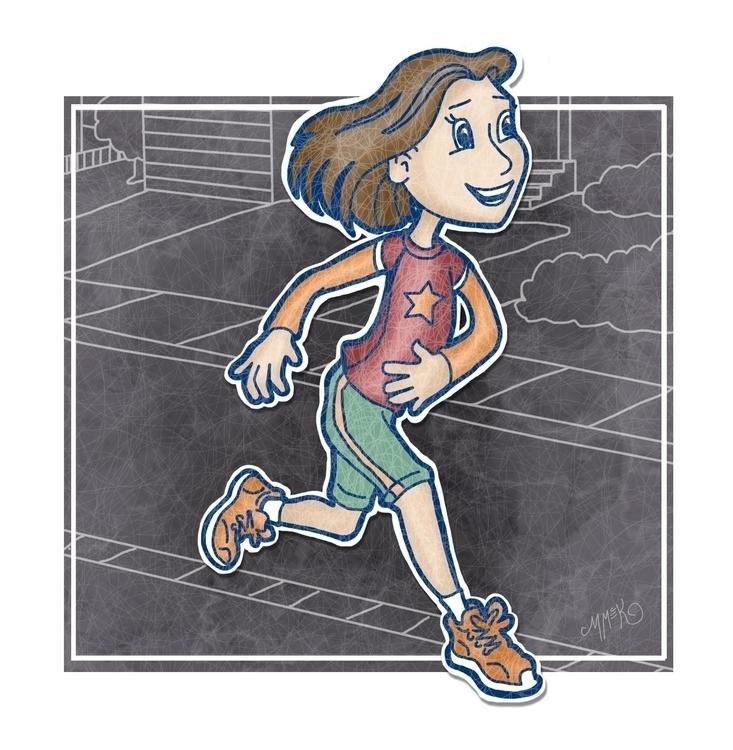 Runner Girl Misty McKeithen - running - mistymckeithen | ello