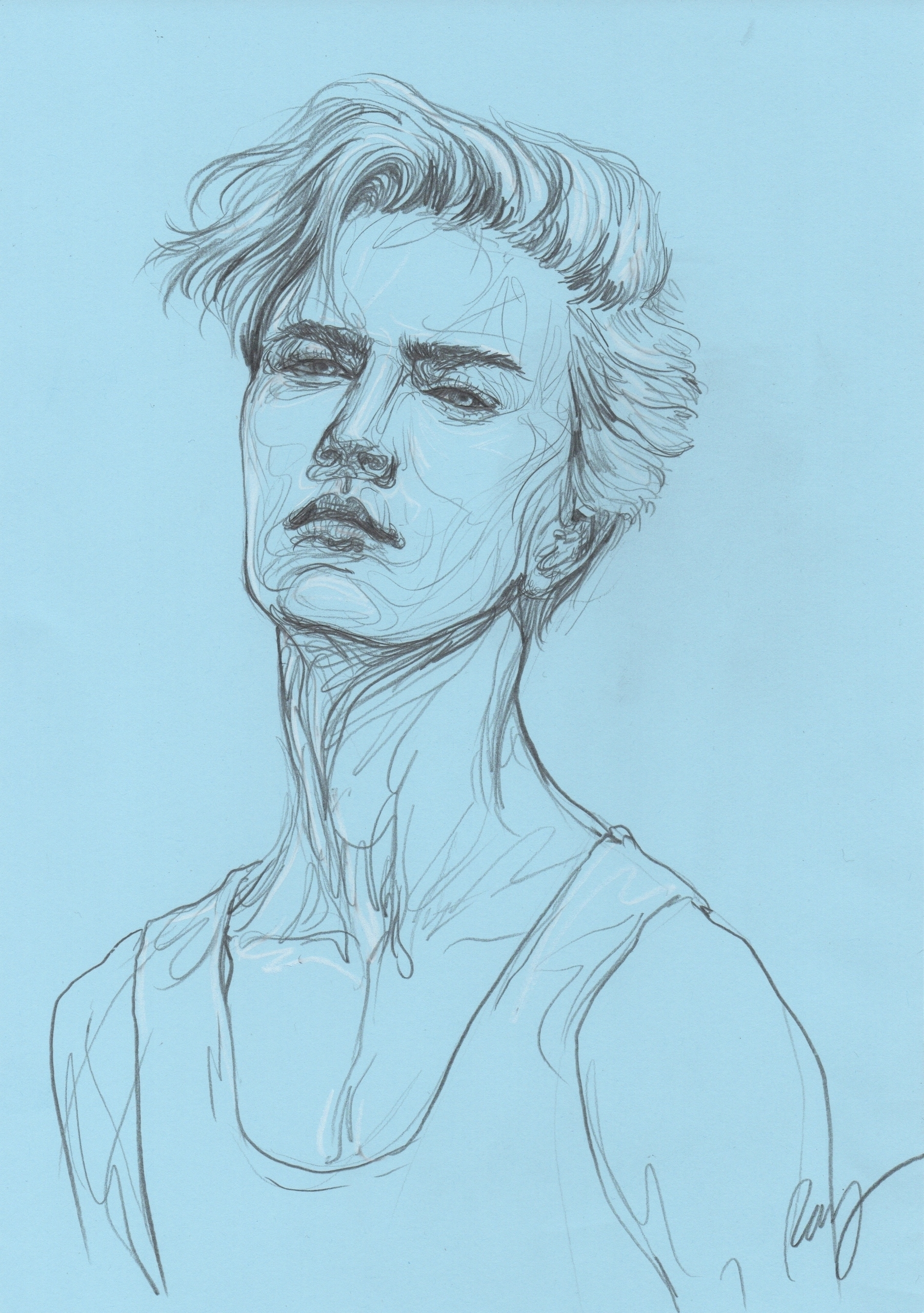Lucky Blue Smith - illustration - juichenhu | ello