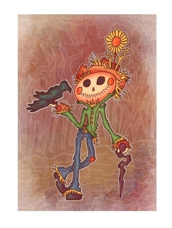 Scarecrow Buddy - scarecrow, crow - mistymckeithen | ello
