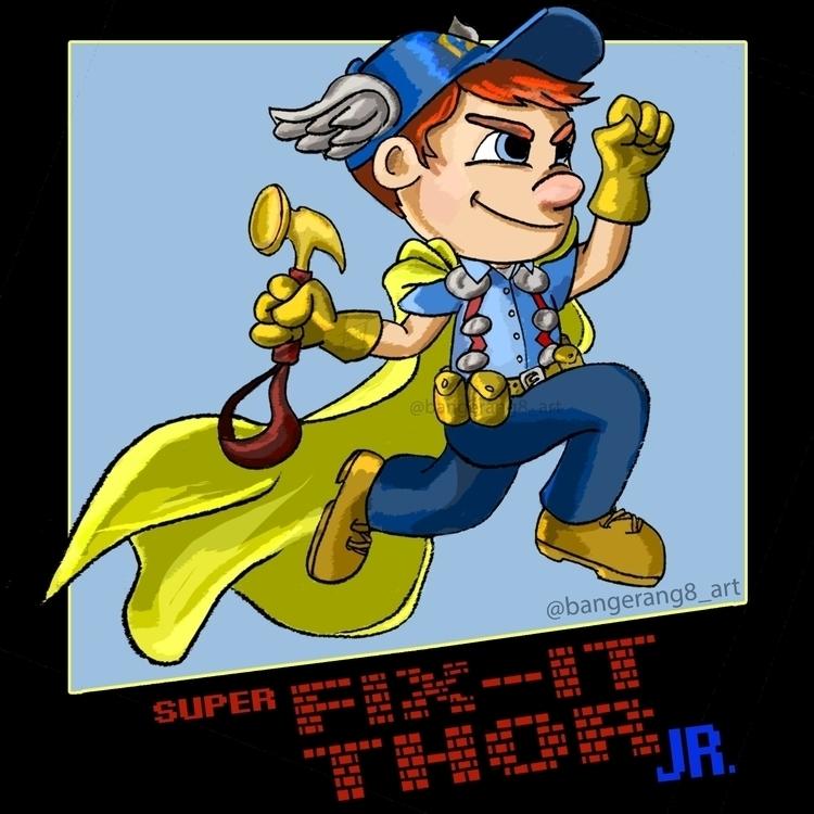 Super Thor Jr. 5 digital August - dereknochefranca | ello