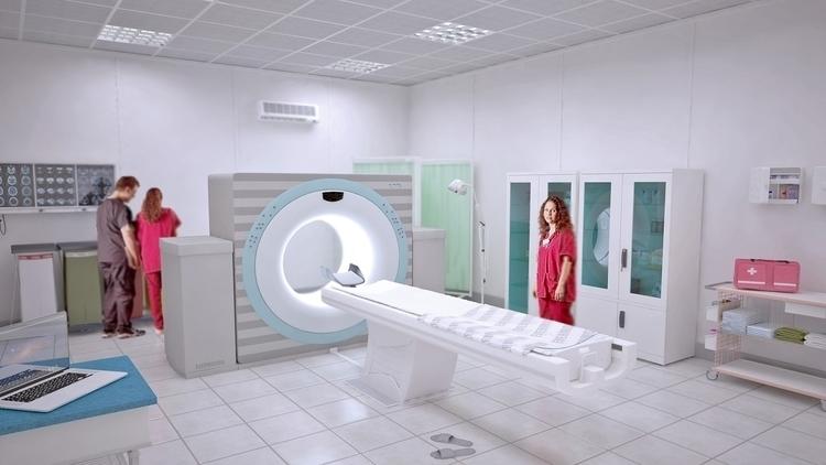 Medical clinic - 3d, design - eugenechekhov | ello