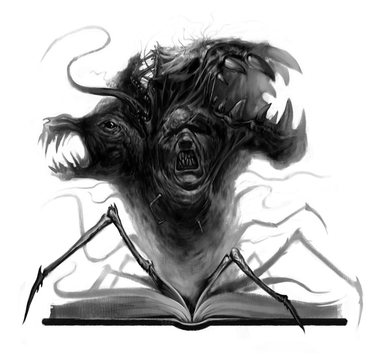 illustration, sketch, horror - sololoma   ello