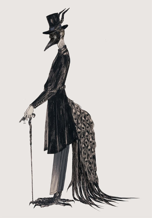 illustration, pen, handdrawn - mioim   ello